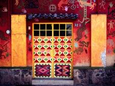 INNES decorated_door_ajijic_mexico