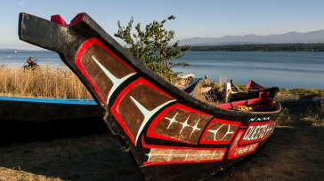 INNES FN Canoe on Beach
