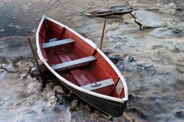 INNES Row Boat in Ice